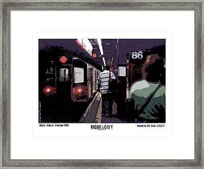 86th Street Framed Print