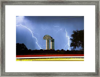 9-11   Framed Print by James BO  Insogna
