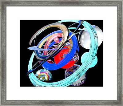 Abstract Shape Framed Print by Bogdan Floridana Oana