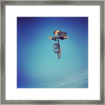 Bmx O Marisquiño #bmx #marisquiño Framed Print
