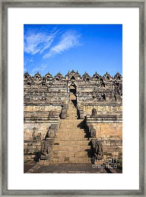 Borobudur Framed Print by MotHaiBaPhoto Prints