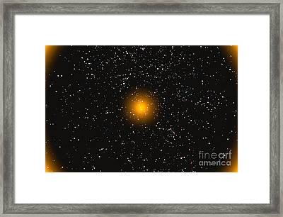 Computer Space Image Framed Print