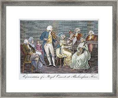 George IIi (1738-1820) Framed Print by Granger