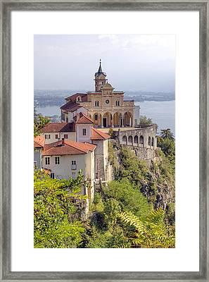 Madonna Del Sasso - Locarno Framed Print by Joana Kruse