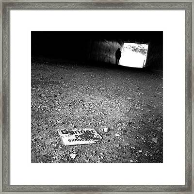 Framed Print featuring the photograph No Title  by Mariusz Zawadzki