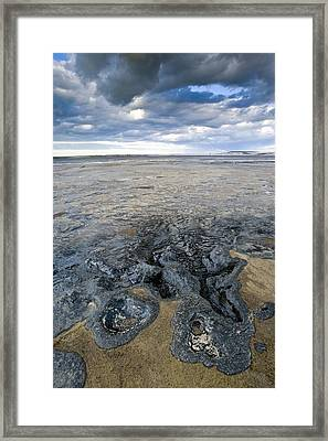 Oil Industry Pollution Framed Print by David Nunuk
