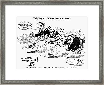 Presidential Campaign 1908 Framed Print