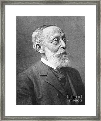 Rudolph Virchow, German Polymath Framed Print by Science Source