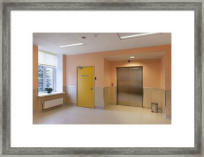 The Nursing Centre A Building In P�rnu Framed Print