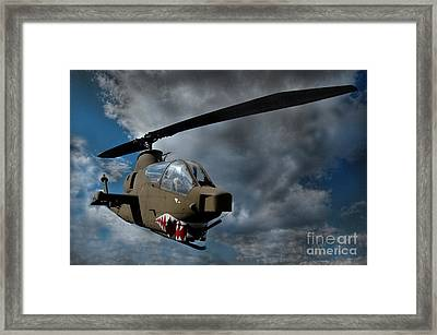 9 To 5 Bravo Framed Print by The Stone Age