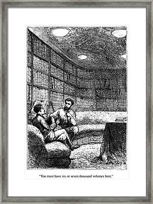 Verne: 20,000 Leagues Framed Print by Granger