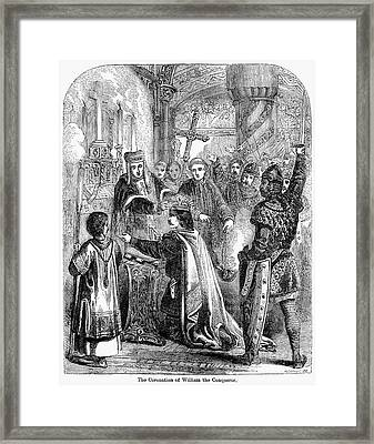 William The Conqueror Framed Print by Granger