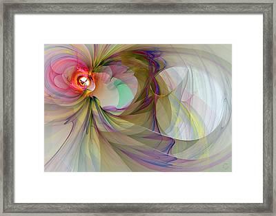 903 Framed Print