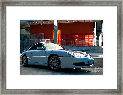 911 Porsche 996 2 Framed Print by Stuart Row