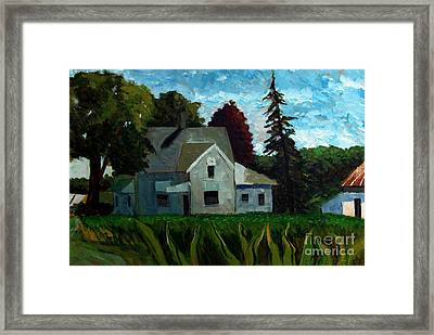930 A M 400e 400n Framed Print by Charlie Spear