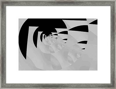 Decoupage Framed Print by Mihaela Stancu