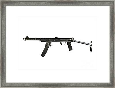 A 7.62mm Type 54 Machine Gun, A Variant Framed Print by Andrew Chittock
