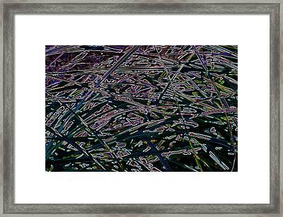 A And X  Framed Print by Travis Crockart