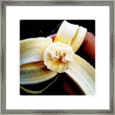 A Bannana #fcnphoto #banana #bannana Framed Print