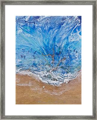 A Beautiful Beach 1 Framed Print by Dora Woodrum