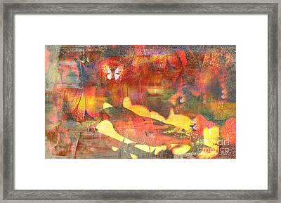 A Bird's Place Framed Print by Fania Simon