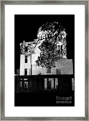 A-bomb Dome Framed Print by Dean Harte