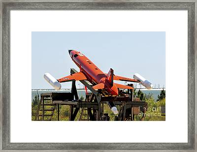 A Bqm-167a Subscale Aerial Target Framed Print by Stocktrek Images