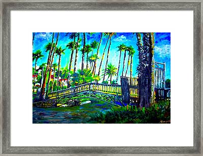 A Bridge To Home Framed Print by Rom Galicia