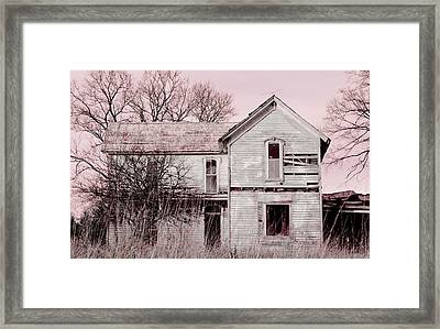 A Broken Dream Framed Print
