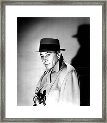 A Bullet For Joey, George Raft, 1955 Framed Print