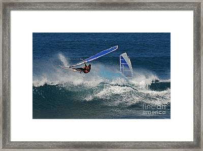 A Busy Place Framed Print by Vivian Christopher