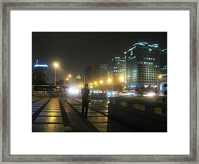 A Call For You Framed Print by Alfred Ng