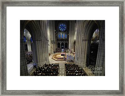 A Casket Lies In Place Framed Print by Stocktrek Images