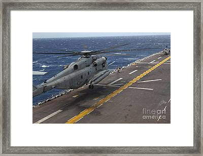 A Ch-53 Super Stallion Helicopter Framed Print by Stocktrek Images
