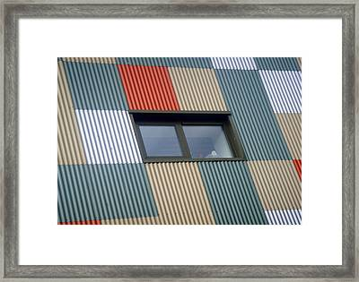 A Challenge To The Eyes Framed Print