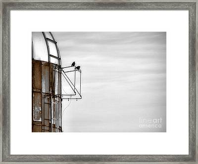 A Change Is Coming Framed Print