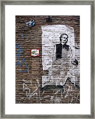 A Character On The Wall Framed Print by RicardMN Photography