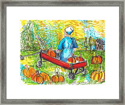 A Child's Joy  Framed Print by Jon Baldwin  Art