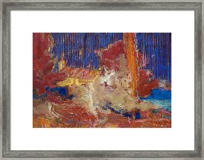 A Chord Of Trpanj Framed Print by Petro Bevza