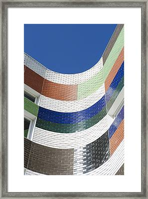 A City Building In Melbourne. The Framed Print
