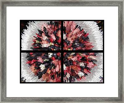A City Of The Future Framed Print by Ausra Huntington nee Paulauskaite