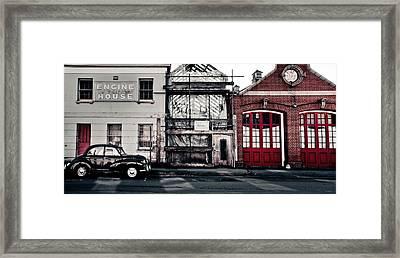 A Classic Fire Framed Print by Justin Albrecht