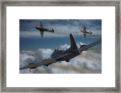 A Close Encounter Framed Print by Ken Brannen