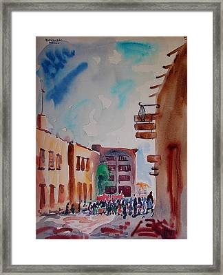 A Cloudy Day In Mexico Framed Print by Bill Joseph  Markowski