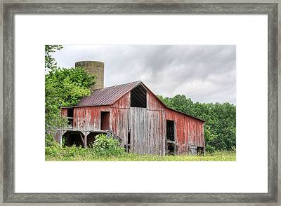 A Cloudy Day Framed Print by JC Findley