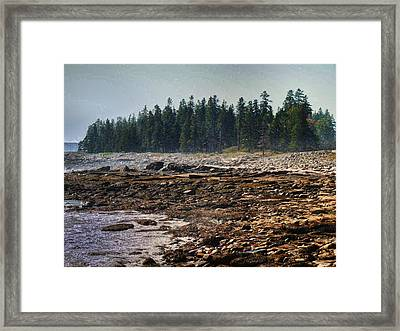 Framed Print featuring the photograph A Cloudy Day by Kelly Reber