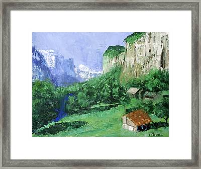 A Cold Clear Day Framed Print by Anthony Falbo