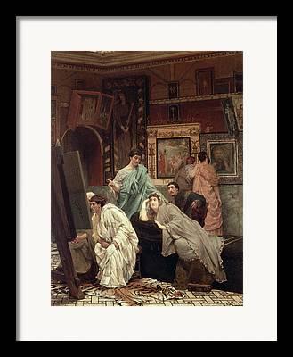 Art Appraisal Framed Prints