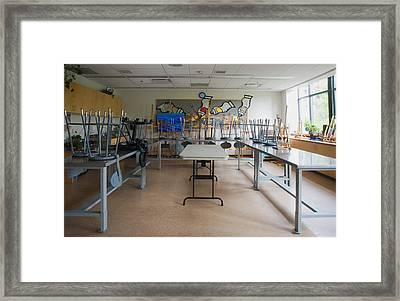 A Community Centre Art Room And Studio Framed Print
