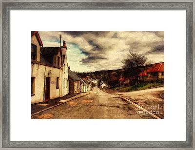 A Cotswold Village Framed Print by Lianne Schneider